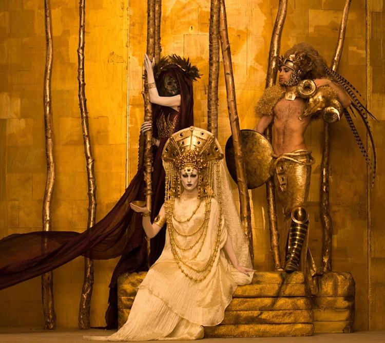 Gustav Klimt Recreations by Inge Prader