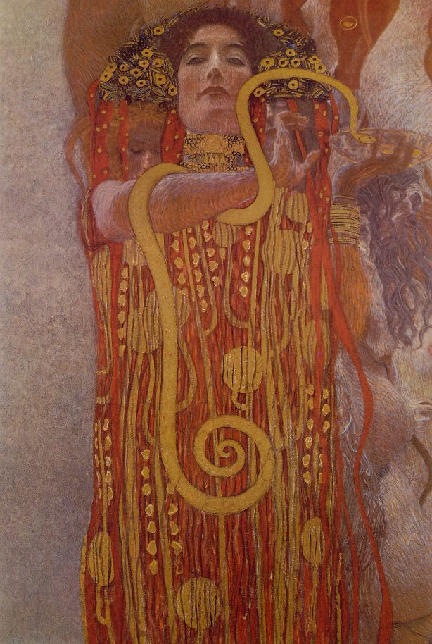 gustav klimt paintings hygeia