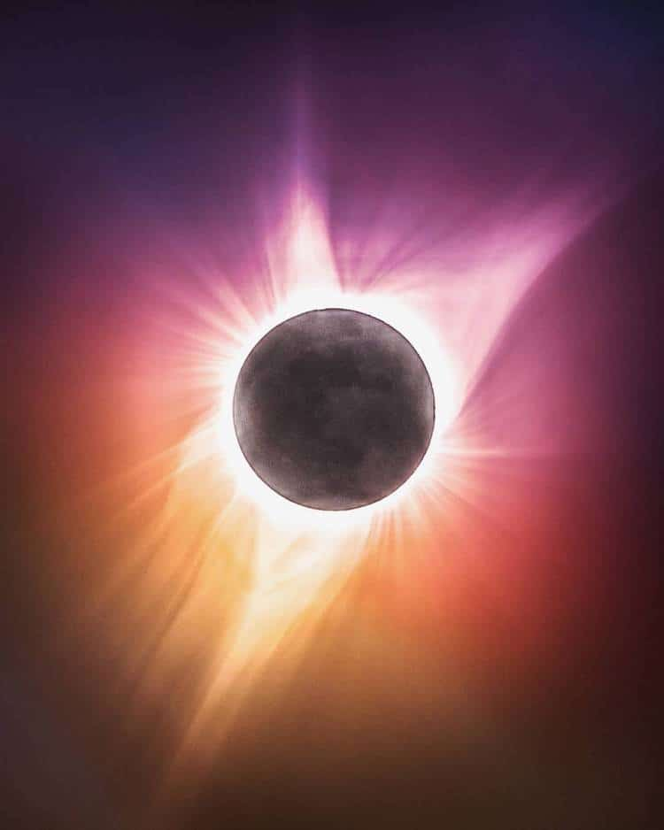 Landscape Photography Ty Newcomb Solar Eclipse