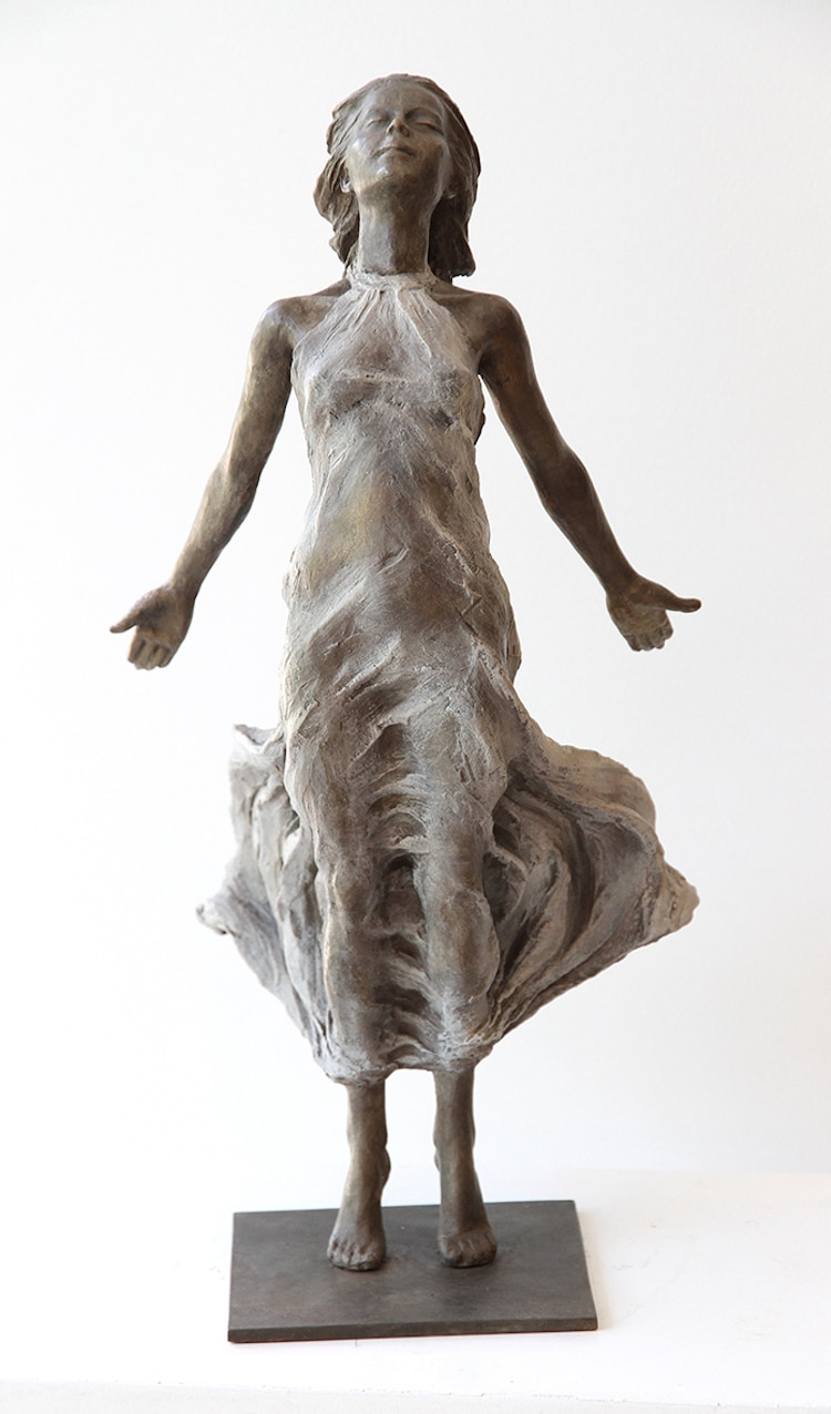 Figurative Sculptures by Luo Li Rong