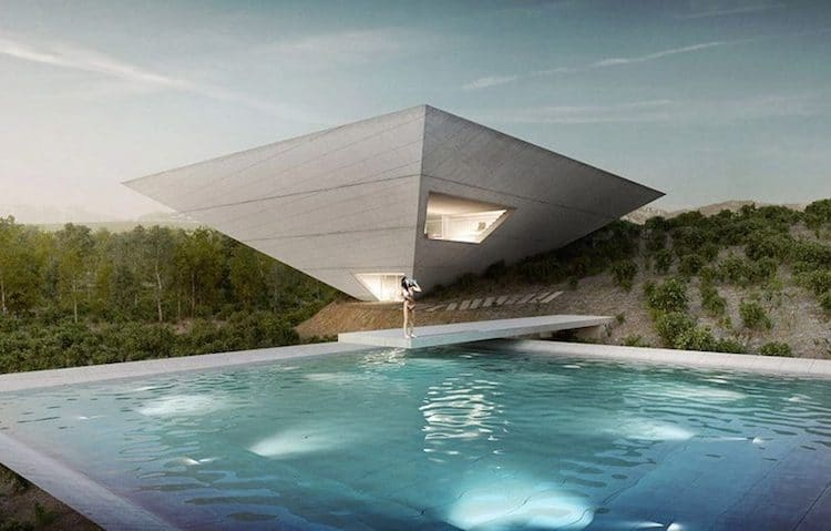 architecture houses. Plain Houses Japanese Architecture Firm TNA Is One Of A Group Cuttingedge Architects  Designing Resort Dwellings In The Spanish Countryside For Solo Houses  In Architecture O