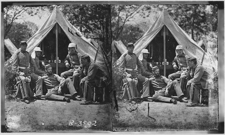 Mathew Brady Civil War Photos