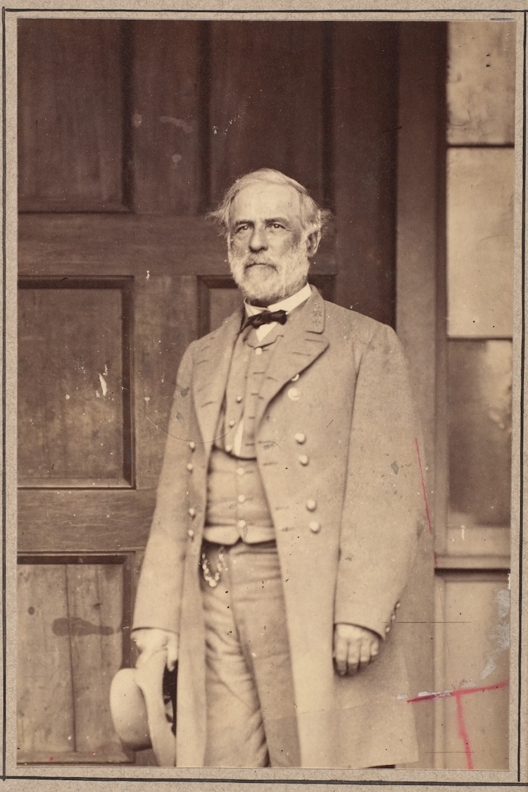 mathew brady robert e lee portrait