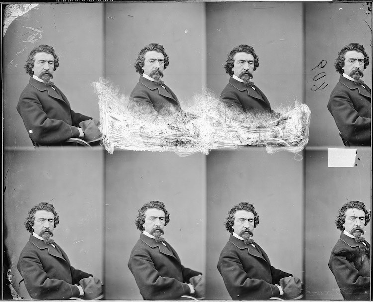 mathew brady self-portrait