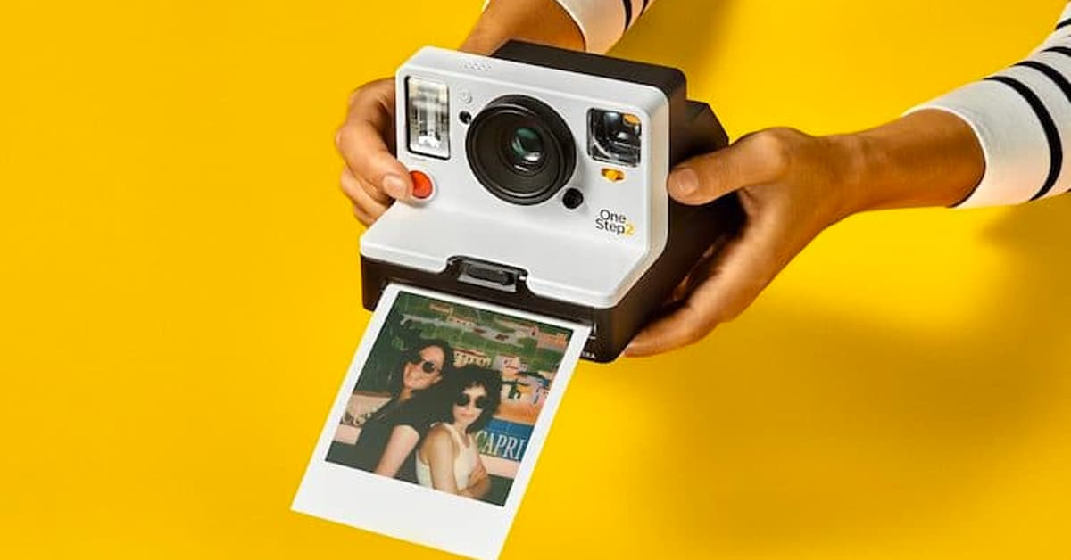 OneStep 2 is the First New Polaroid Camera in a Decade