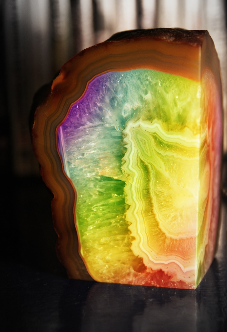 Rainbow Crystal Geode