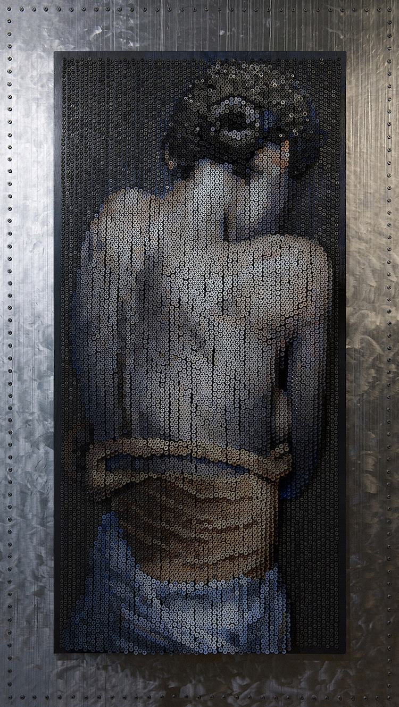 Screw Sculpture Art Bruce Mackley