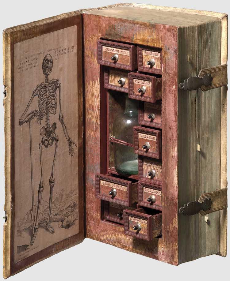 Secret Poison Cabinet