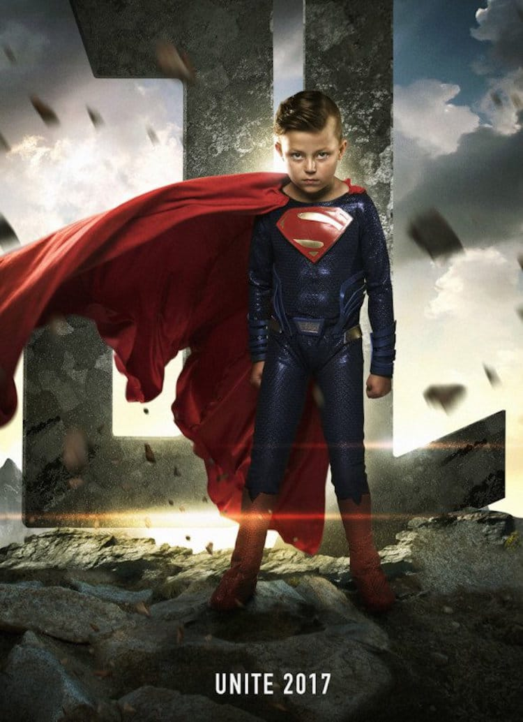 Superhero Kids Sick Children Josh Rossi