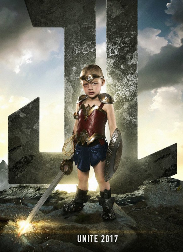 Superhero Kids Sick Children Josh Rossi