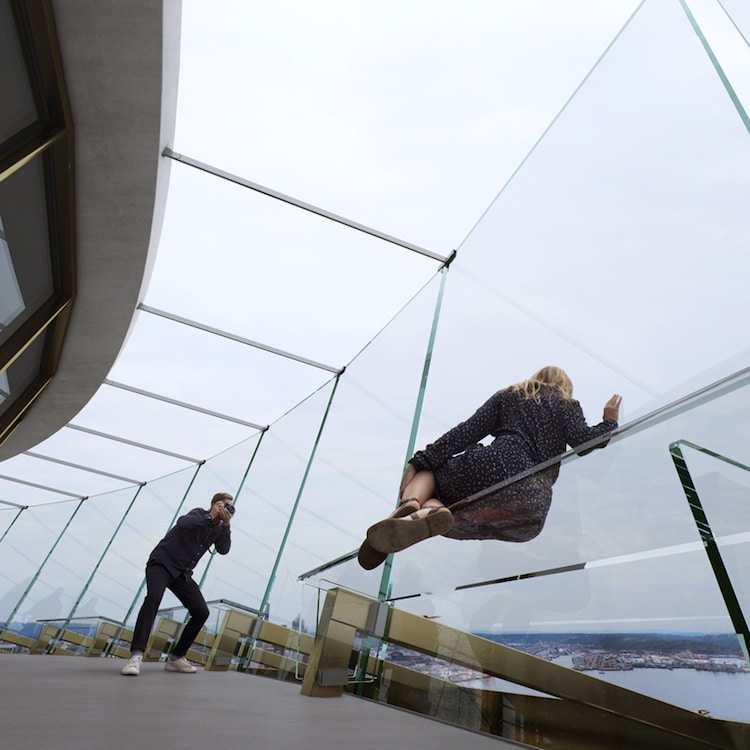 Seattle Space Needle Glass Floor