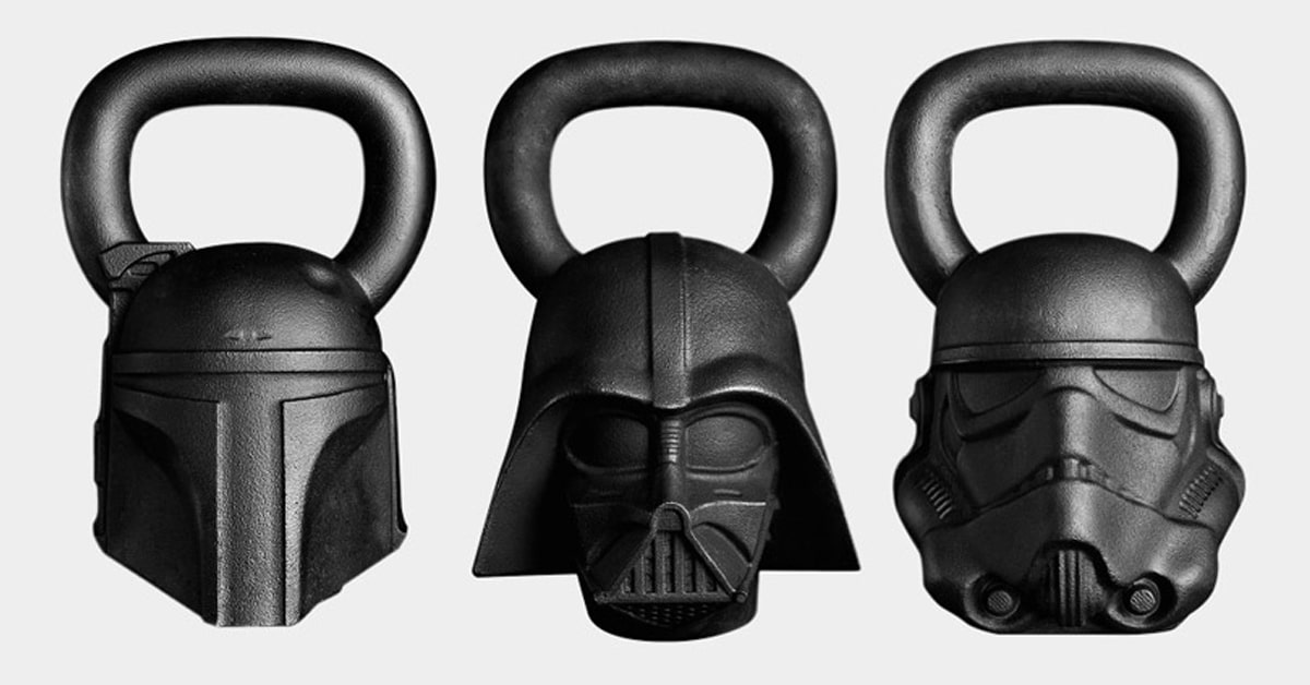 "Star Wars-Themed Fitness Equipment Delivers the Power of the ""Force"" to Your Workout"