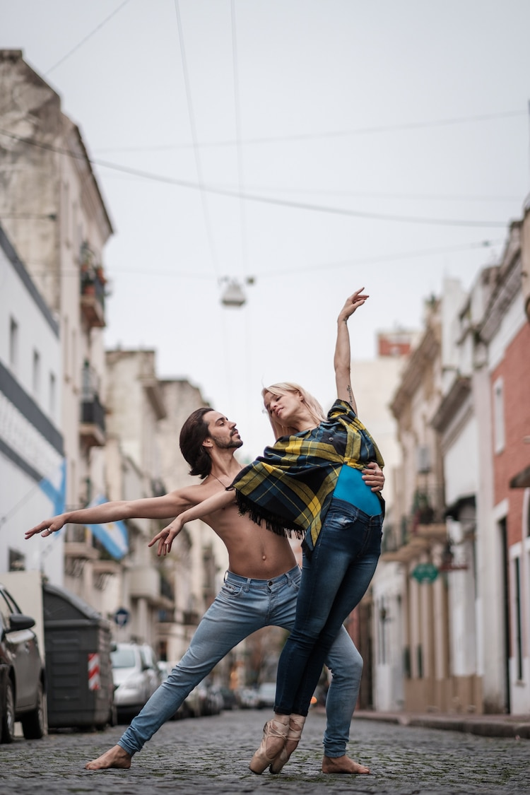 Modern Dance Photography in Buenos Aires by Omar Z. Robles