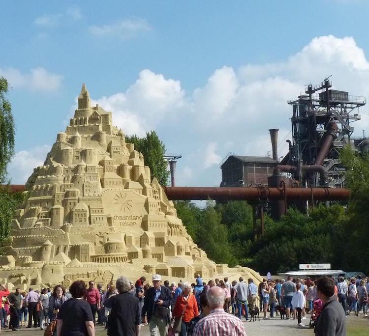 Tallest Sandcastle Sand Art Duisburg