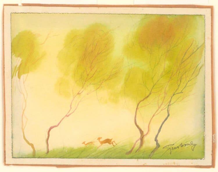 tyrus wong bambi artist