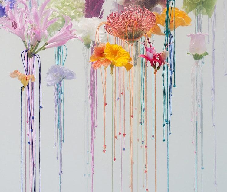 Flower Art Underwater Ballet Anne ten Donkelaar