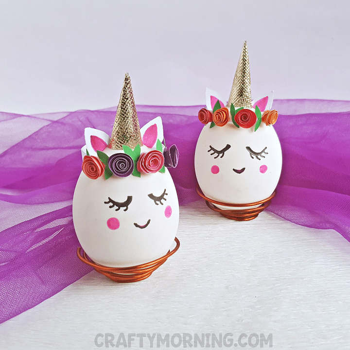 Unicorn Egg Decorating