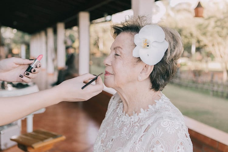 Elderly Couple in Love Wedding Photography