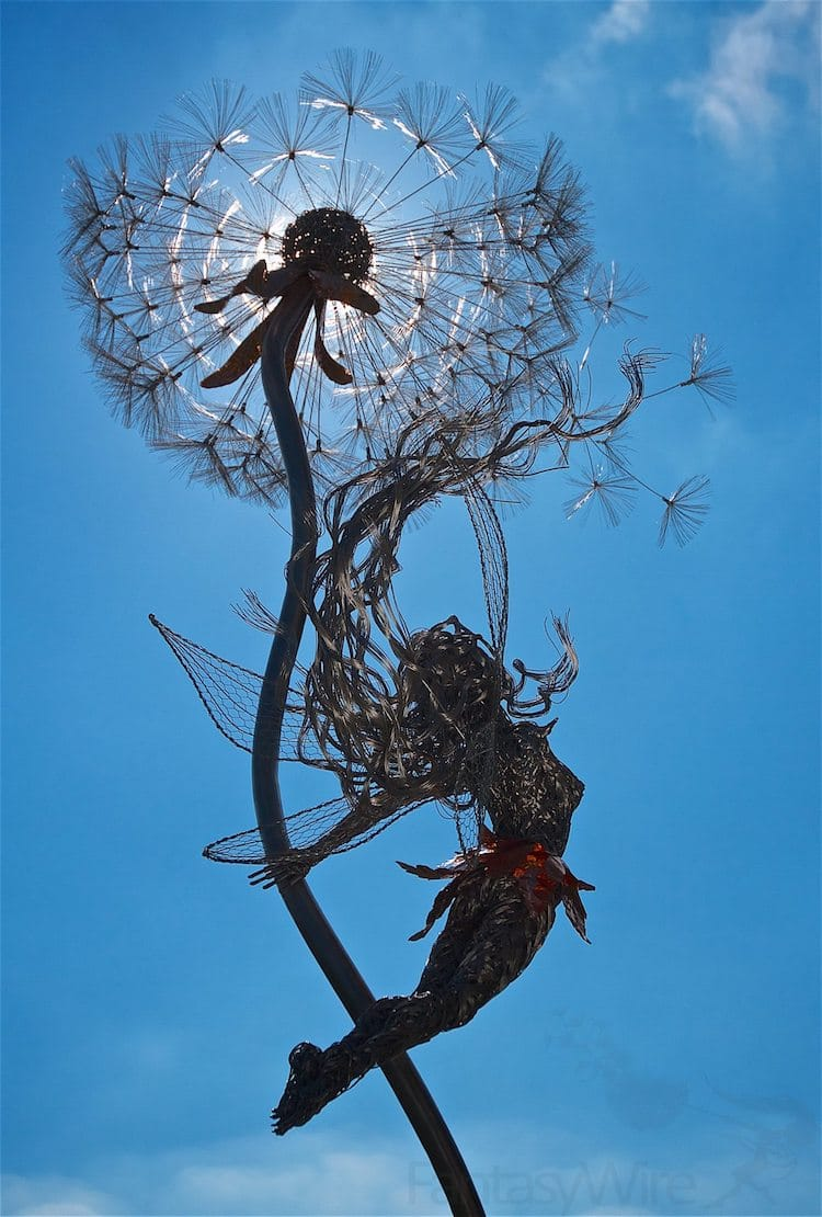 Wire Sculpture Robin Wight