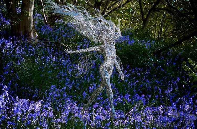 Wire Sculpture by Robin Wight
