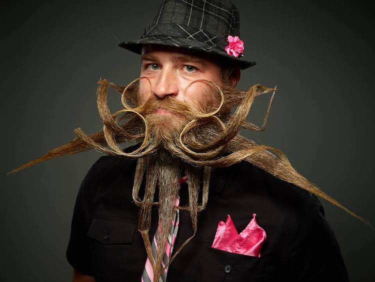 World Beard and Moustache Championships Beard Styles