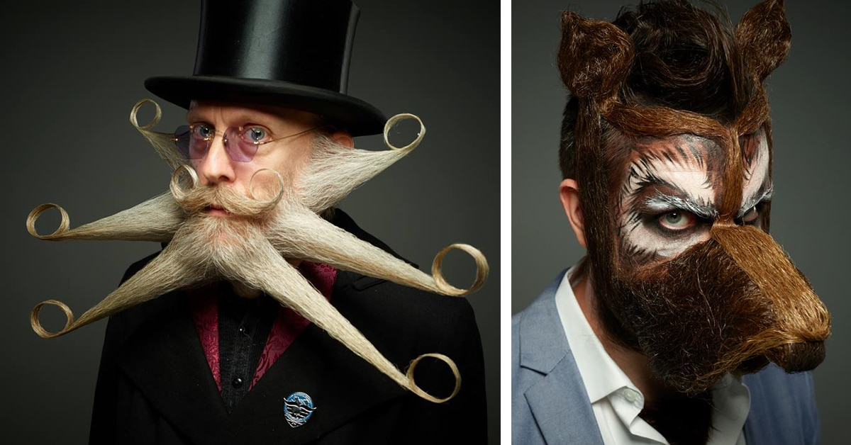 World Beard And Moustache Championships Exhibit Quirky
