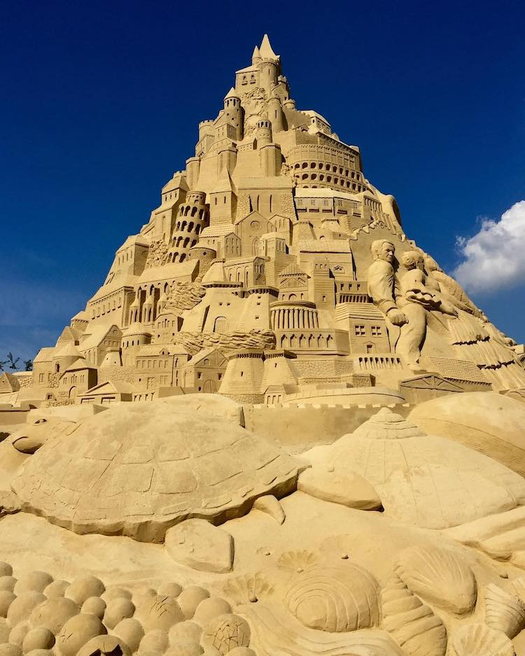 World's Tallest Sandcastle