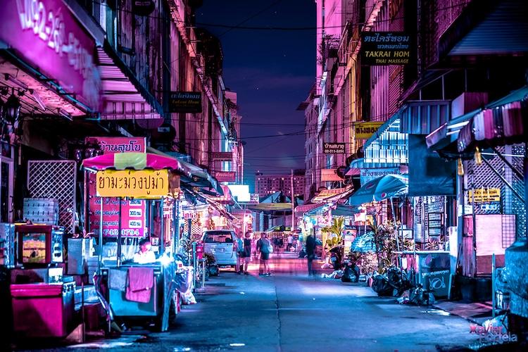 xavier portela neon photos bangkok