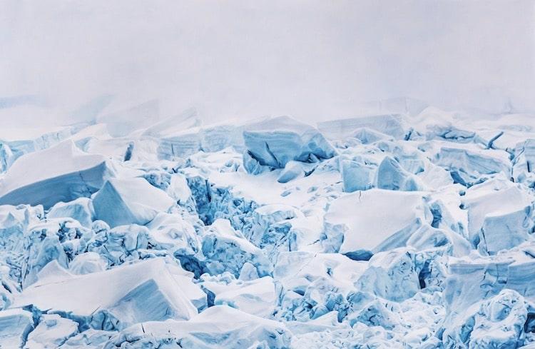 zaria forman hyperrealistic drawings antarctica