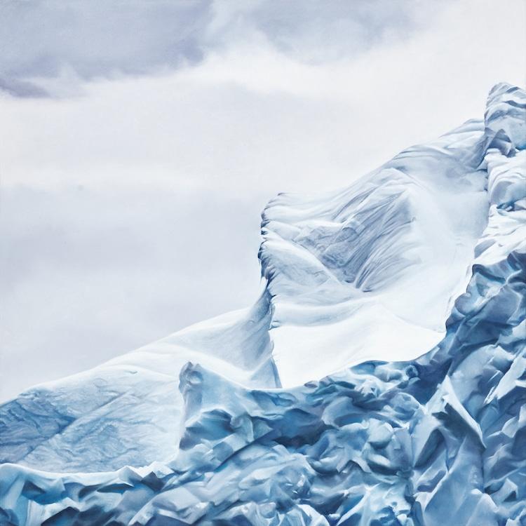 zaria forman pastel drawings antarctica