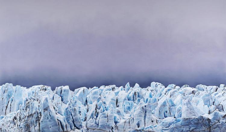 zaria forman hyperrealistic landscape art