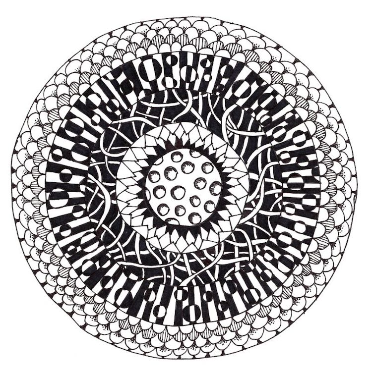 Learn How to Create Zentangle Art, a Meditative Form of Drawing