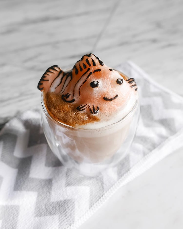 Self Taught 17 Year Old Whips Up Adorable 3d Latte Art