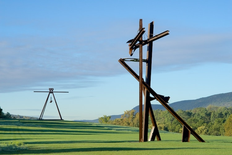 Mark di Suvero at Storm King Art Center