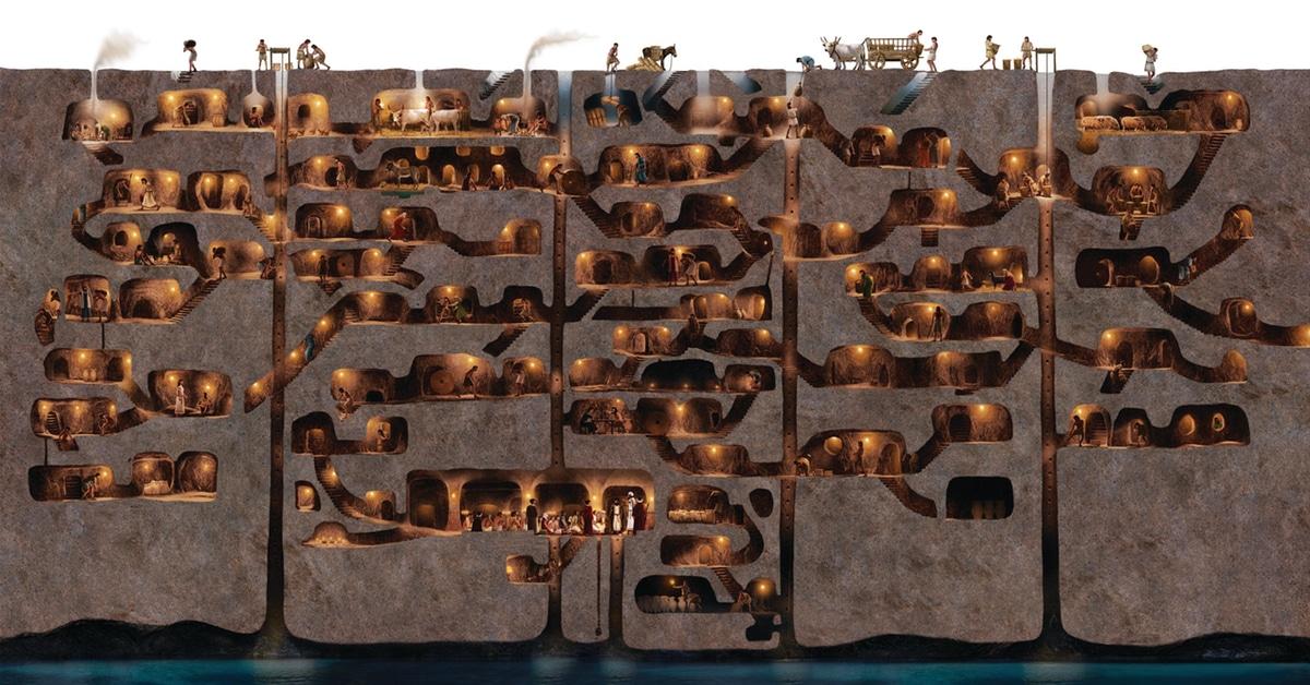ajab-jankari-Derinkuyu-Underground-City-cappadocia-turkey