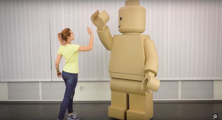 LEGO Costume - Halloween DIY - Cardboard Costume