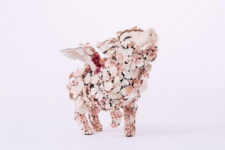 Metal Animal Sculptures by Taiichiro Yoshida
