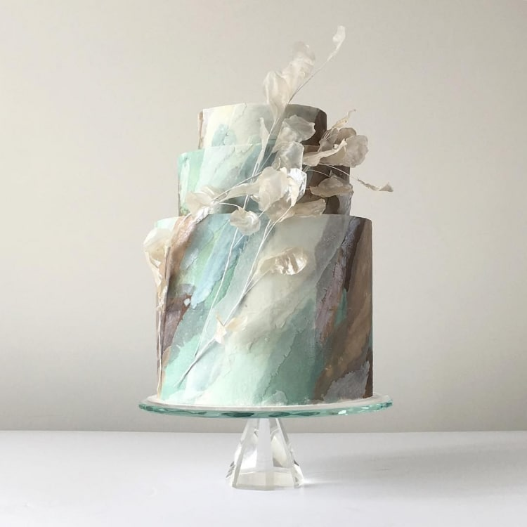 Food Art Cake Decorating Abstract Cakes