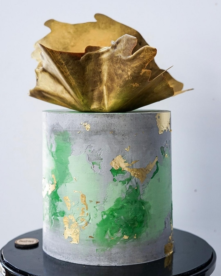 Art Cake Collection Showcases Abstract Approach to Cake ...