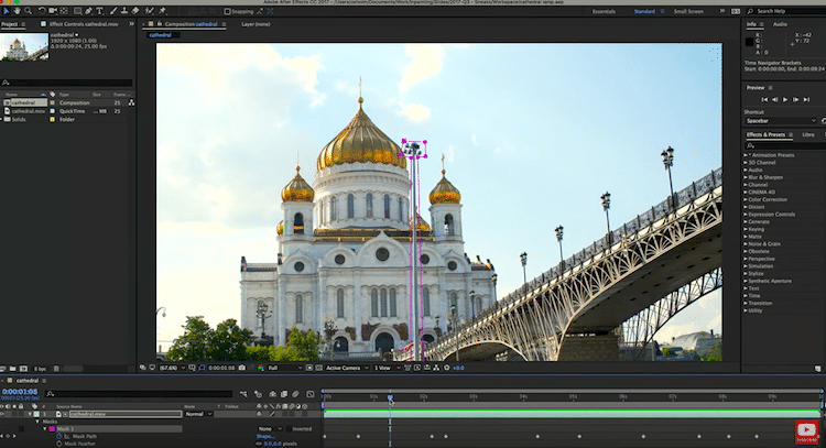 Adobe Cloak video editing