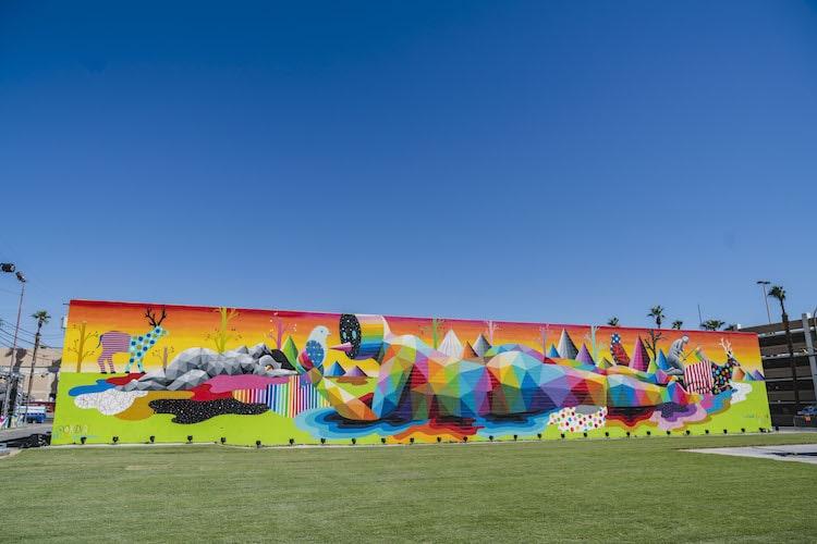 Okuda Street Art Justkids
