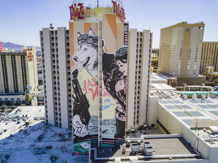 Las Vegas Street Art at Life is Beautiful Festival