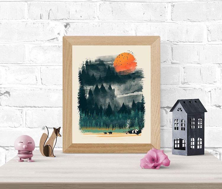 Autumn Inspired Art Print