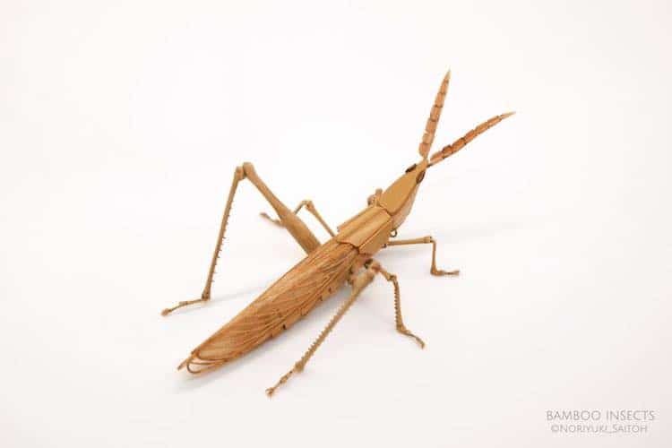 Insect Art Bamboo Sculpture