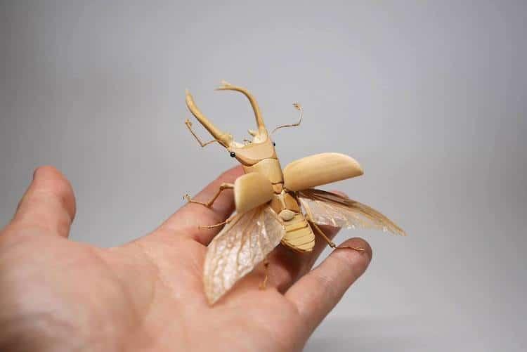 Bamboo Sculpture by Noriyuki Saitoh