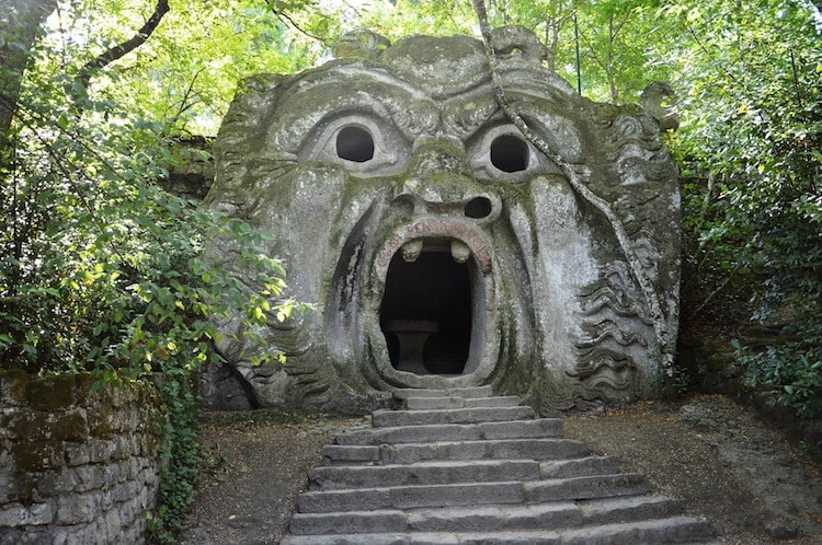 bomarzo park of monsters