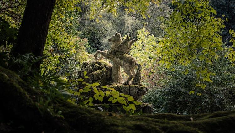 bomarzo sculpture garden