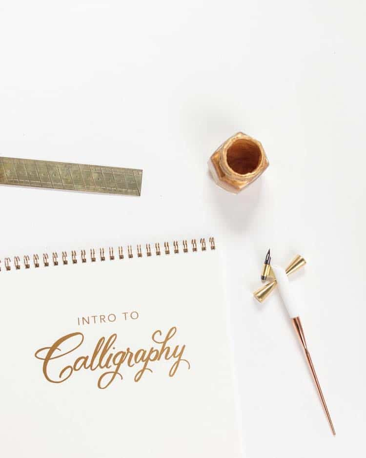 Everything Needed To Learn Calligraphy For Beginners