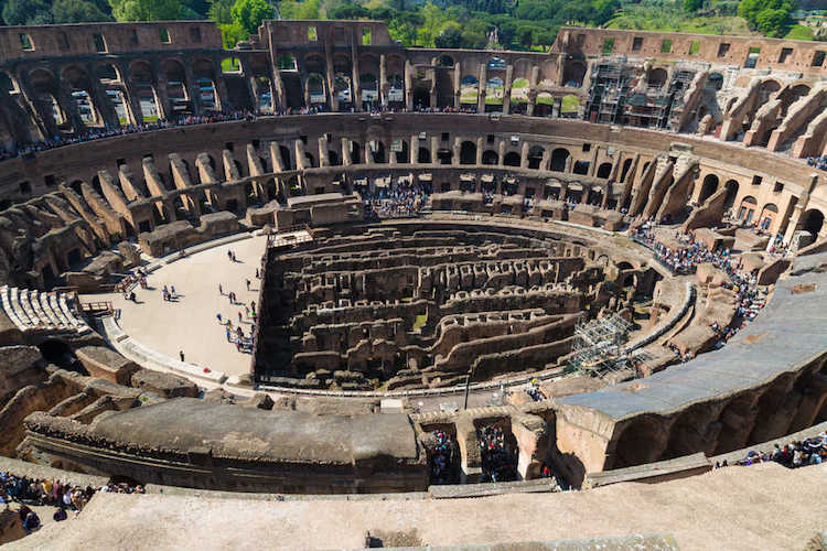 Colosseum Opens Fifth Level