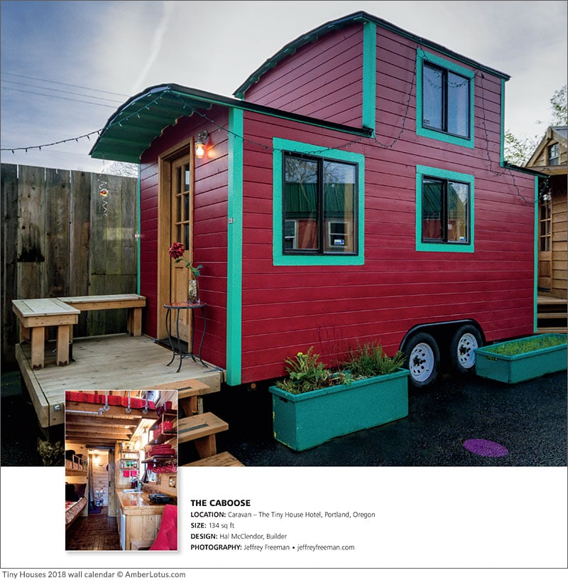 Cool Tiny Houses on Wheels